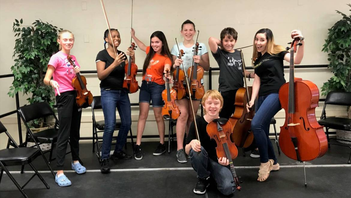 2020 Tampa Music Summer Camp – String Chamber Ensemble