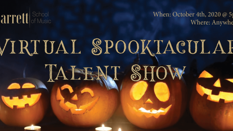 1st Annual Spooktacular Talent Show!