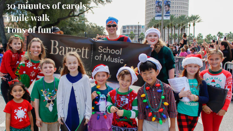 BSM at the Santa Fest Parade!